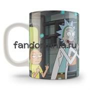 """Кружка """"Рик и Морти"""" (Rick and Morty)"""