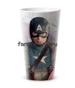 """Кружка конусная """"Капитан Америка"""""""