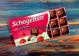 """Шоколад """"Schogetten Joghurt-Erdbeer"""""""