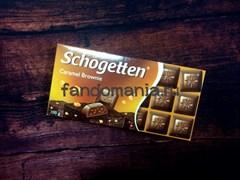 "Шоколад ""Schogetten Caramel Brownie"""