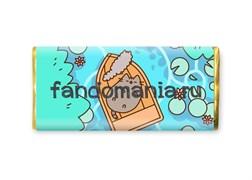 """Шоколадная плитка """"Пушин""""  (Pusheen)"""