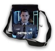 """Сумка с клапаном """"Detroit: Become Human"""" (Детройт; Стать человеком)"""