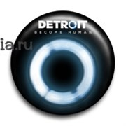 """Значок """"Detroit: Become Human"""" (Детройт: Стать человеком)"""