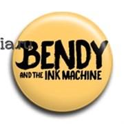 "Значок ""Бенди и чернильная машина"" (Bendy and the Ink Machine)"