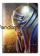 """Обложка на паспорт виниловая """"Орда против Альянса"""" (World of Warcraft)"""