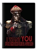 """Обложка на паспорт виниловая """"Warhammer 40K"""""""