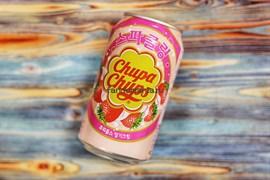 Chupa Chups Strawberry | Напиток безалкогольный газированный