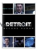 """Обложка на паспорт виниловая """"Detroit: Become Human"""" (Детройт: Стать человеком)"""