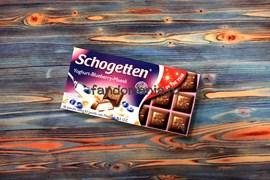 "Шоколад ""Schogetten Yoghurt-Blueberry-Muesli"""