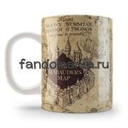 """Кружка """"Карта Мародеров"""" (Гарри Поттер)"""