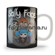 """Кружка """"Салли фейс"""" (Sally Face)"""