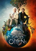 """Постер """"Благие знамения"""" (Good omens)"""
