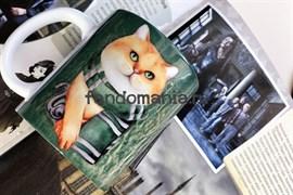 Кот слизерин | Кружка