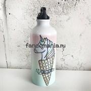 Единорог в рожке | Бутылка для воды