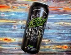 Mountain Dew Black label| Напиток безалкогольный газированный