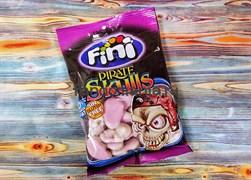 Жевательные конфеты Fini пиратские черепа