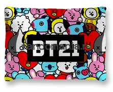 "Подушка ""BT21""  (K-pop)"