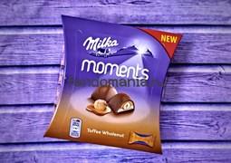 Шоколадные конфеты Milka Moments Toffee