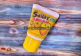 Жевательная резинка Lutti Tubble Gum Smiley (citrus)