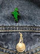 """Значок """"Зеленый человечек"""""""