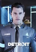 """Открытка """"Детройт - стать человеком"""" (Detroit become human)"""