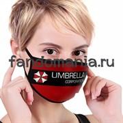 """Маска тканевая """"Корпорация """"Амбрелла"""" (Resident Evil)"""