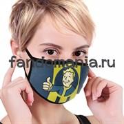 "Маска тканевая ""Vault Boy"" (Fallout)"