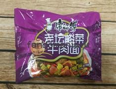Лапша с говядиной и острой капустой (Китай)