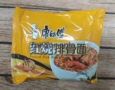 Лапша острая со вкусом свиных ребер Braised Pork Ribs (Китай)