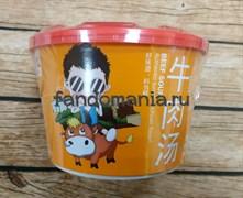 """Говяжий суп с вермишелью острый """"Beef soup"""" (Китай)"""