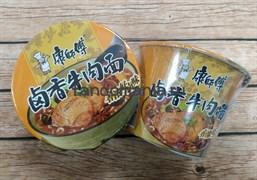 Лапша в стакане со вкусом тушёной говядины (Китай)