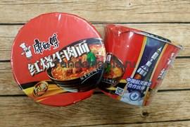 Лапша в стакане со вкусом тушеной говядины Braised Beef Noodle (Китай)