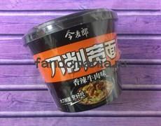 Лапша Lang в стакане со вкусом говядины в кисло-сладком соусе (Китай)