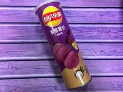 Чипсы Lay's со вкусом фиолетового батата и кокоса