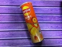 Чипсы Lay's со вкусом тыквы и карамели