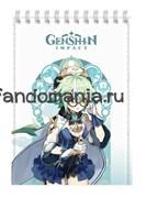 """Блокнот """"Genshin Impact"""""""