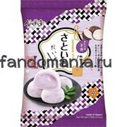 Моти с начинкой со вкусом фиолетового картофеля (батат)