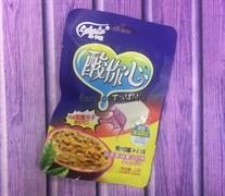 Жевательные конфеты с кислинкой со вкусом маракуйи (Китай)