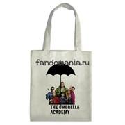 """Сумка-шоппер """"Академия Амбрелла"""" (Umbrella Academy)"""