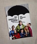 """Тетрадь в клетку  """"Академия Амбрелла"""" (Umbrella Academy)"""