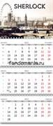 "Календарь квартальный ""Шерлок"" 2022 год"