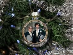 "Елочный шарик ""Шерлок и Джон"" (Sherlock BBC)"