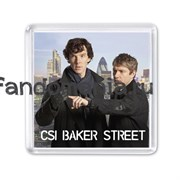 "Магнит ""CSI Baker Street"" (Шерлок)"