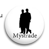 "Значок ""Мystrade"" (Шерлок)"