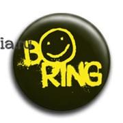 """Значок """"Boring"""" (Шерлок)"""
