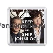 "Магнит ""Ship Johnlock"""