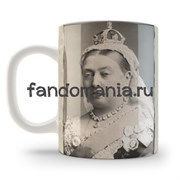"Кружка ""Drink tea and think of England"""