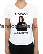 """Футболка """"Always and forever"""""""