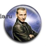 """Значок """"Девятый Доктор"""" (Доктор Кто)"""