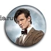 "Значок ""Одиннадцатый Доктор"""